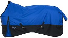 "Winter Horse Turnout Blanket - 600D - 250 Grams - Sizes 51"" to 84"" - Royal Blue"