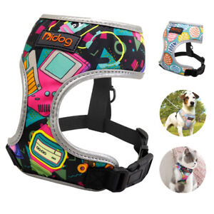 No Pull Small Dog Harness Reflective Adjustable No Choke Cat Puppy Safety Vest