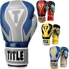Title Boxing infundido Espuma honor Combate Guantes de entrenamiento de gancho y bucle