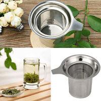 Reusable Stainless Steel Mesh Tea Infuser Strainer Loose Tea Leaf Spice Filter