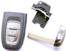 Auto smartkey carcasa 3 teclas para audi a5 s5 rs5 q3 q5 a7 a3 a1 a4 a6 s4