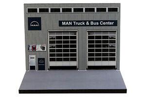 Diorama Garage MAN Truck & Bus Center - 1/87ème | HO -  #HO-2-A-A-002