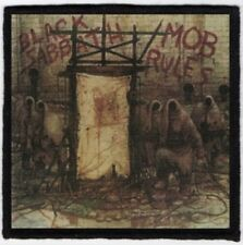 Black Sabbath Mob Rules Printed Patch B033P Electric Wizard Sleep