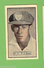 Cricket Trading Cards Allens 1937 Season