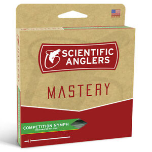 Scientific Anglers Mastery Competition Nymph Fly Line .022 Comp - FREE SHIPPING