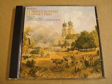 CD HYPERION / BRAHMS - CLARINET QUINTET & TRIO / THEA KING GABRIELI QUARTET