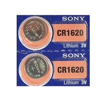 2 Sony Cr 1620 3v Batteries Cr1620