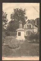 BOURBON-LANCY (71) STATUE de la MARQUISE D'ALIGRE 1915