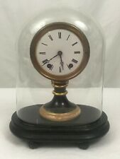 American Candlestick Clock with Dome. Seth Thomas & Sons. Late 19th Century.