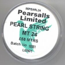 Pearsalls Size 28 Pearl Re-Stringing Beading Silk 762 metres Ø0.15mm - FT5128