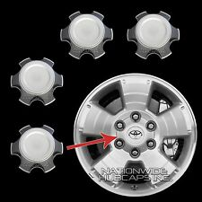 "03-14 Toyota 4 Runner Tacoma 17"" Wheel Center Hub Caps 6 Lug Hubs Nut Rim Cover"