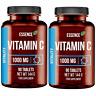 Vitamin C Hochdosiert 1000mg - 2 x 90 Tabletten - VEGAN - Immunsystem