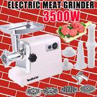 3500w Large Commercial Electric Meat Grinder Sausage Maker Mincer Stuffer photo