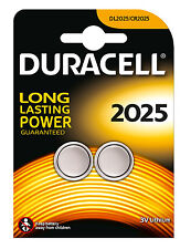 Duracell Dl2025 Battery Lithium for Camera Calculator or Pager 3v PK 2