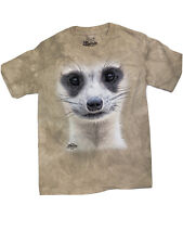 The Mountain Meerkat Face Youth T-shirt New Medium 10-12 Defect