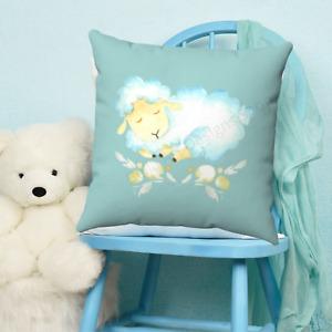 Baby Sheep Childrens Throw Pillow - Nursery Room - Kids Bedroom Decor - Gift