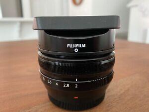 Fujifilm Fujinon XF 18mm f/2 R Lens