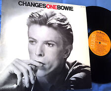 DAVID BOWIE - LP CHANGES ONE BOWIE - SPANISH EDITION ORIGINAL RCA 1976