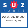 09494-00710-000 Suzuki Jet,needle(o-9) 0949400710000, New Genuine OEM Part