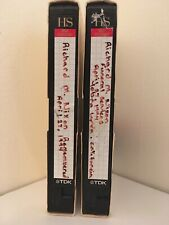 VHS Home Recording of CNN's Coverage of Richard Nixon's Funeral