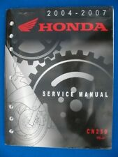 2004 Honda CN250 Helix Scooter Owners Manual 31KFR640