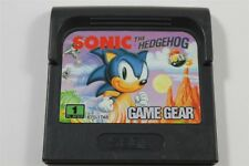 Sonic The Hedgehog - Classic Sega Game Gear Game