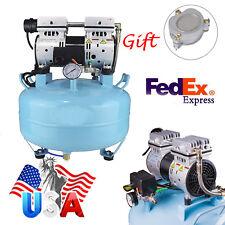 NEW 8Mpa Dental Noiseless Silent Oilless Air Compressor Filter Machine  USA  BID