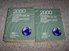 2000 Ford F250 Super Duty Shop Service Repair Manual XL XLT Lariat 7.3 V8 Diesel