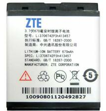 ZTE Li3706T42P3H413457 BATTERY FOR ZTE A136 A37 D190 V18 X760 X763 670mAh