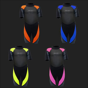 Kinder Shorty 3mm Neoprenanzug Tauchanzug Surfanzug Schwimmanzug Neo 90-155 NEU