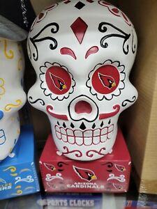 Arizona Cardinals Football team Sugar Skull Statue NFL NIB