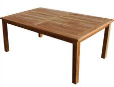 KMH® Teak Gartentisch 180 X 90 Cm Teaktisch Gartenmöbel Holztisch Tisch  Esstisch