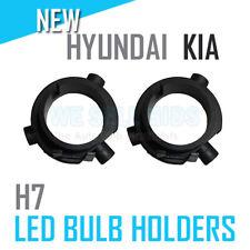 2x H7 LED Bulb Headlight Clip Adapter Holder Retainer Kia Forte Koup Rio Hyundai