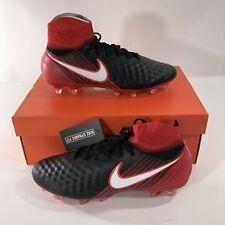Nike Magista Orden II FG Men's Soccer Cleats Black White Red 843812-061 SZ 9