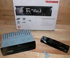 Telefunken T360X RDS CAR AUTO RADIO Digital MP3 USB SD AUX 4x 40W ID-Tag Tx130mm