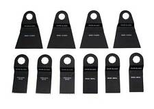 Shark Blades 10 Blade Combo Multipack for Worx Sonicrafter multitool