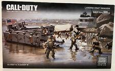 MEGA BLOKS CALL OF DUTY LANDING CRAFT INVASION COLLECTOR SERIES 06829 BRAND NEW
