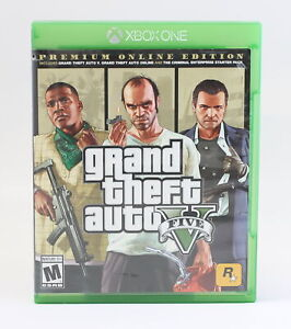 XBOX ONE GAME GRAND THEFT AUTO V