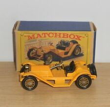 Matchbox MOY Y7-2.10 1913 MERCER RACEABOUT TYPE 35J (IN CORRECT BOX)
