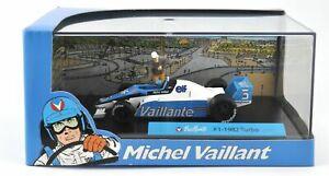 Michel Vaillant -Voiture de collection neuve-F1 -1982(turbo)-Métal injecté