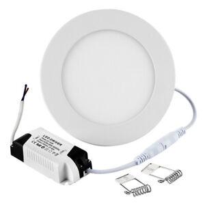 9W Dimmbar LED Panel Deckenleuchte Einbaustrahler Deckenlampe Neutralweiß Lampe
