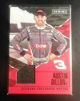 2017 Panini Austin Dillon R8 Race Used Relic (race hat) Richard Childress Racing