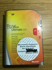Microsoft Office Ultimate Pro 2007 GENUINE full retail NEW 76H-00325 Win 7 8 10