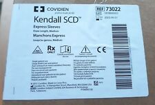 Covidien SCD Express/ SCD 700 Sleeves 73022. Knee length Medium x 5 pairs