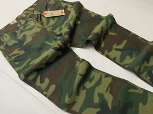 Levi's Levis 541 Athletic Taper Military Army Camouflage