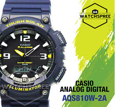Casio Analog Digital Tough Solar Watch AQS810W-2A AQ-S810W-2A