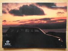 SSANGYONG MUSSO 4x4 prestige Brochure Prospekt c2002-marché britannique