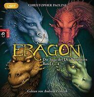 ANDREAS FRÖHLICH-(1-4/MP3)ERAGON BOX-DIE SAGA DES DRACHENREITERS  16 MP3 CD NEU
