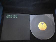 Talking Heads Fear of Music Japan Vinyl LP in 1979 David Byrne Tom Tom Club
