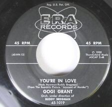 50'S & 60'S 45 Gogi Grant - You'Re In Love / When The Tide Is High On Era Record